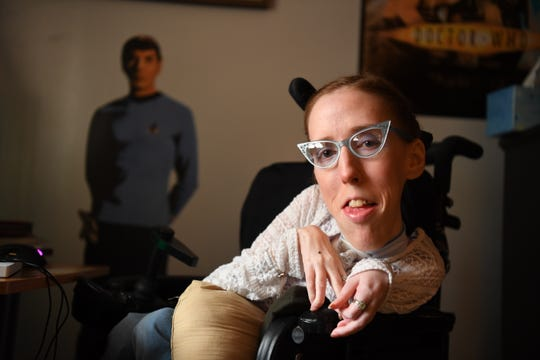 Erin Hawley is an avid video gamer who is disabled.