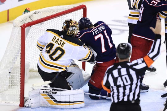 Bruins goaltender Tuukka Rask had a big Game 6 in a 3-0, series-clinching victory.
