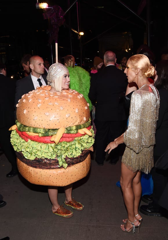 Katy Perry and Celine Dion attend the 2019 Met Gala Boom Boom Afterparty at The Standard hotel on May 6, 2019 in New York City.