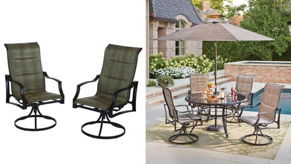 Shop The Home Depot's patio sale and get up to 35% off on select sets and furniture.