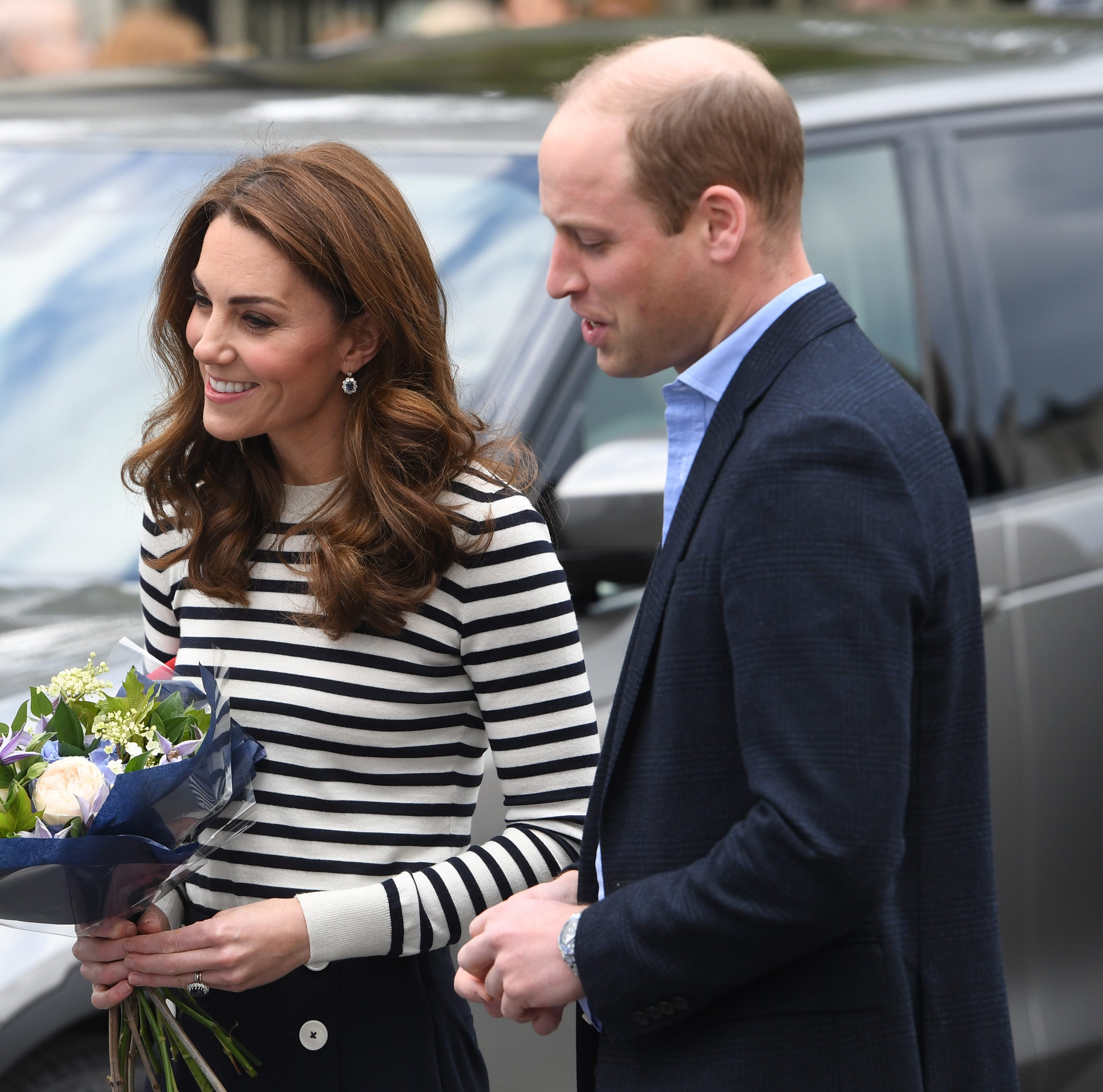 Prince William, Kate gush over the birth of Harry and Meghan's son