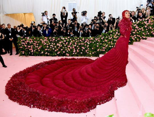 NEW YORK, NEW YORK - MAY 06: Cardi B attends The 2019 Met Gala Celebrating Camp: Notes on Fashion at Metropolitan Museum of Art on May 06, 2019 in New York City. (Photo by Dia Dipasupil/FilmMagic) ORG XMIT: 775333959 ORIG FILE ID: 1147430919