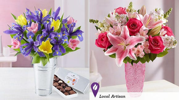 Save 20% on flowers this Mother's Day with 1-800-Flowers.