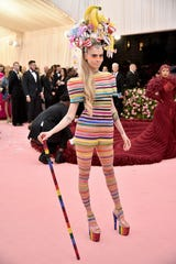 NEW YORK, NEW YORK - MAY 06: Cara Delevingne attends The 2019 Met Gala Celebrating Camp: Notes on Fashion at Metropolitan Museum of Art on May 06, 2019 in New York City. (Photo by Theo Wargo/WireImage) ORG XMIT: 775333959 ORIG FILE ID: 1147440617