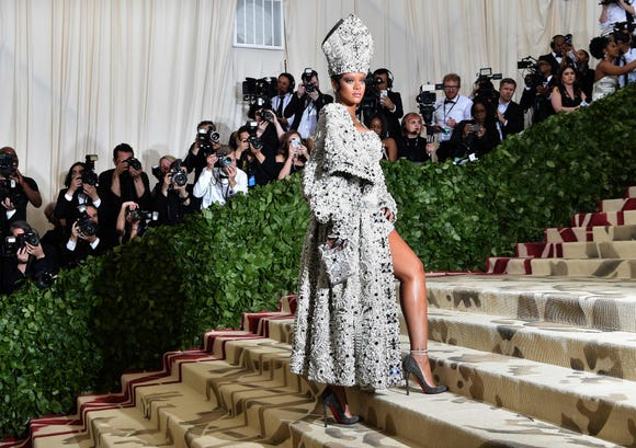 Rihanna, who was anointed the unofficial Queen of the Met Gala in 2018, was noticeably absent this year.