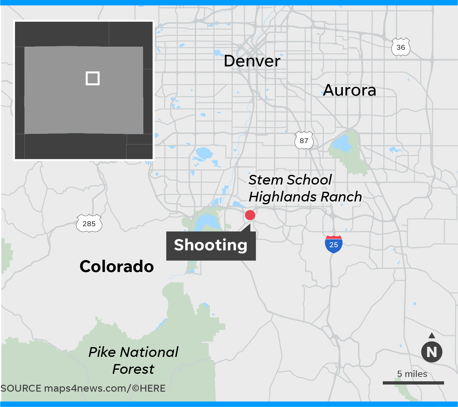 Denver Usa Shooting: Denver School Shooting: 1 Student Killed, 8 Injured; 2 In