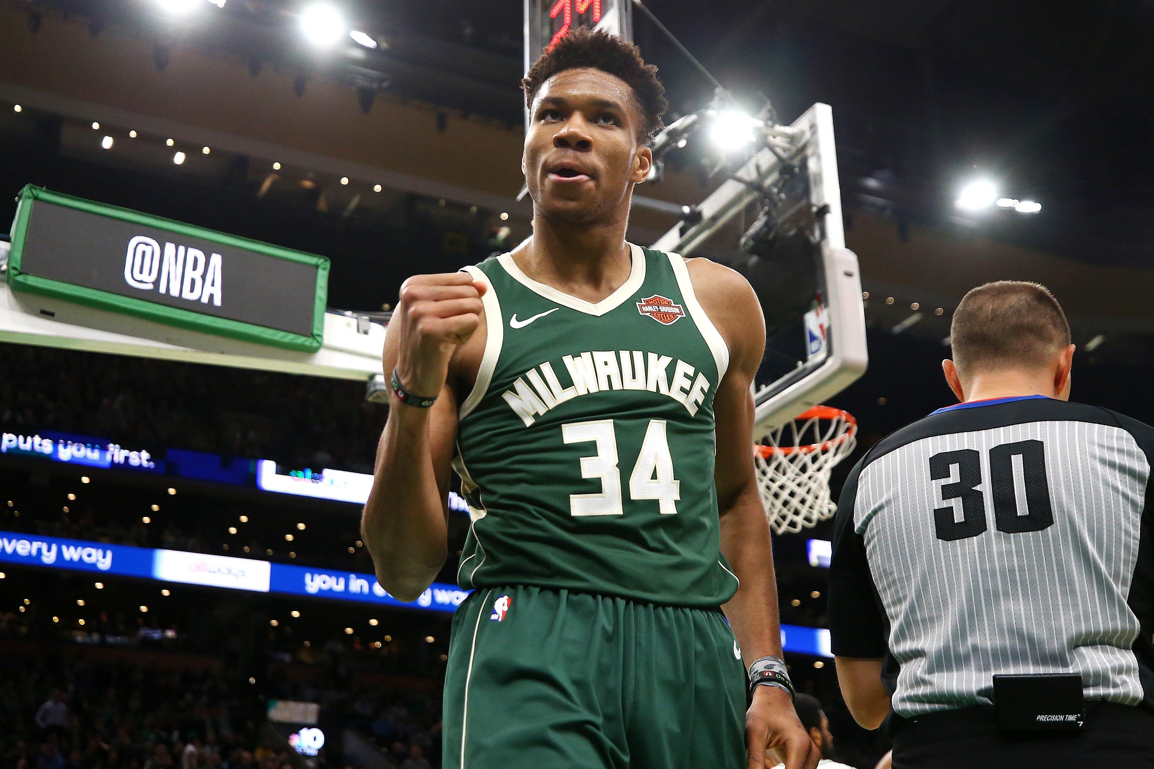 876c3977dba NBA playoffs  Bucks have Celtics on brink of elimination