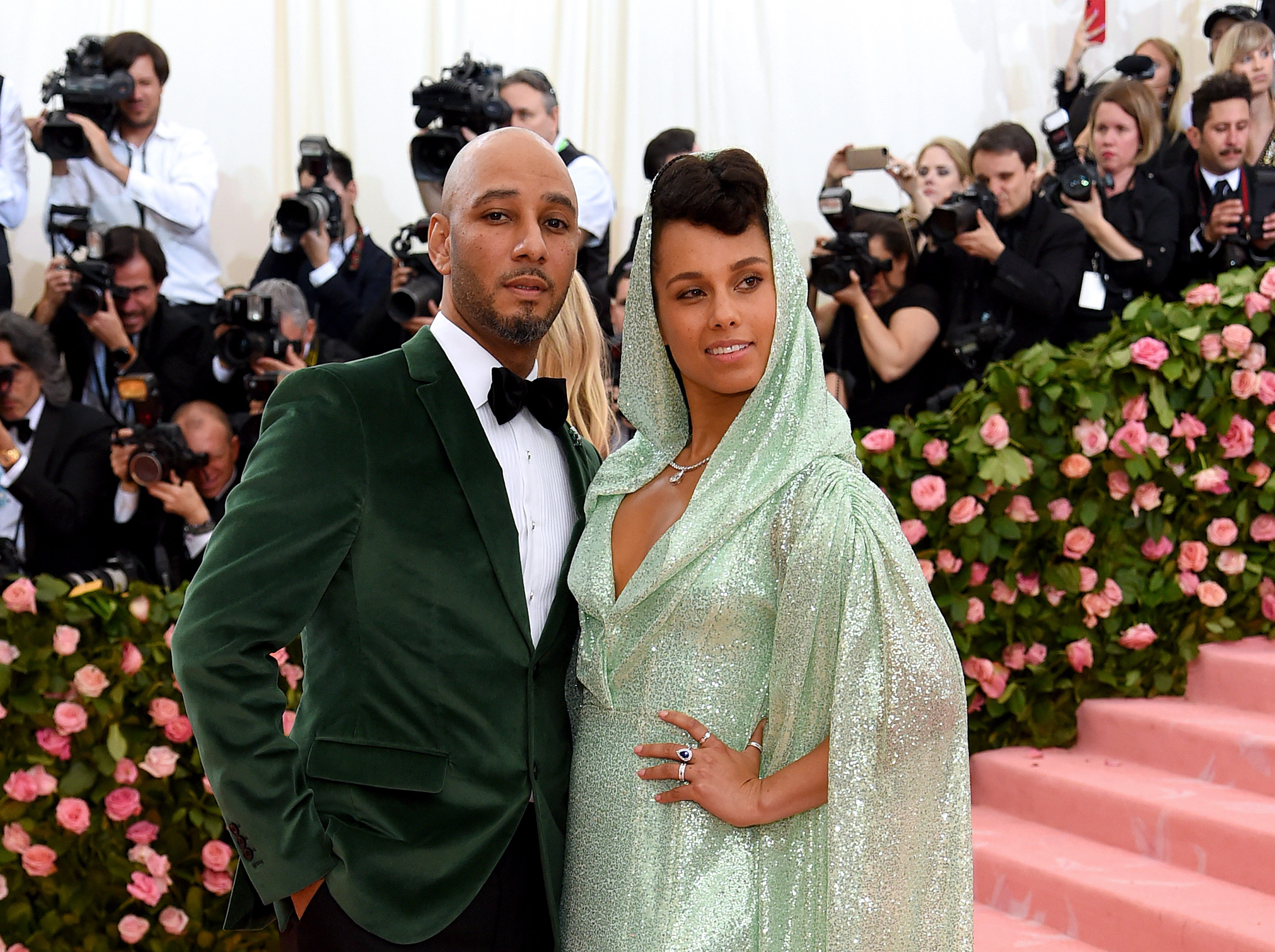 NEW YORK, NEW YORK - MAY 06: Swizz Beatz and Alicia Keys attend The 2019 Met Gala Celebrating Camp: Notes on Fashion at Metropolitan Museum of Art on May 06, 2019 in New York City. (Photo by Jamie McCarthy/Getty Images) ORG XMIT: 775333959 ORIG FILE ID: 1147435012