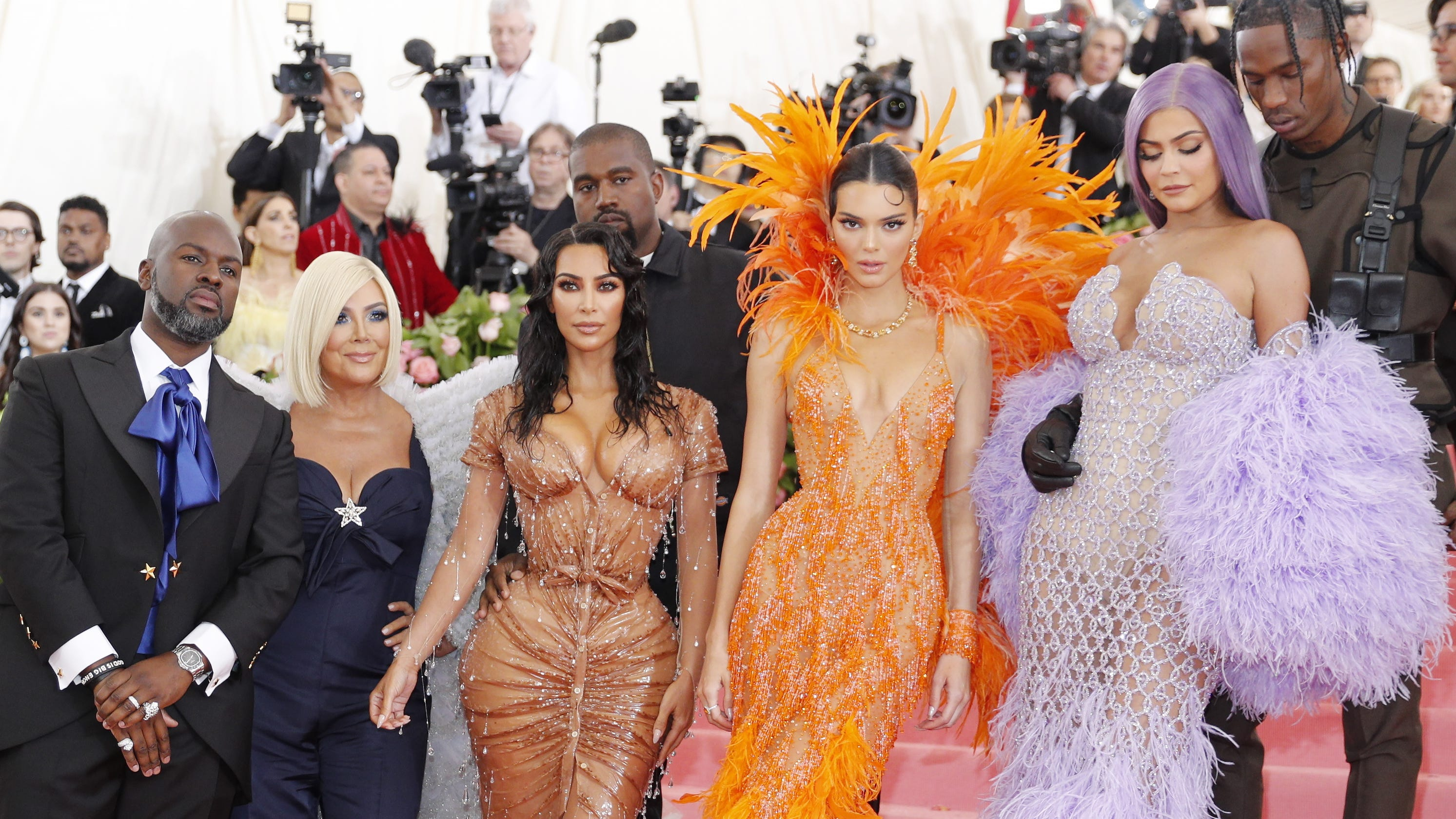 e50afd3baa4 Kris Jenner was in full momager mode as the Kardashians acted campy at the  Met Gala