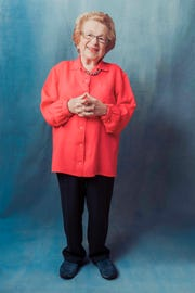 """Dr. Ruth Westheimer, a Holocaust survivor who became America's most famous sex therapist, is now the subject of new documentary """"Ask Dr. Ruth."""""""