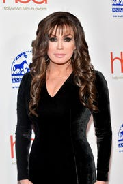 Marie Osmond at the Hollywood Beauty Awards in Los Angeles in February.