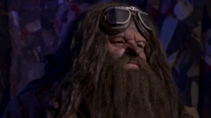 Hagrid is the star of the newest Harry Potter-themed ride at Universal Orlando Resort.