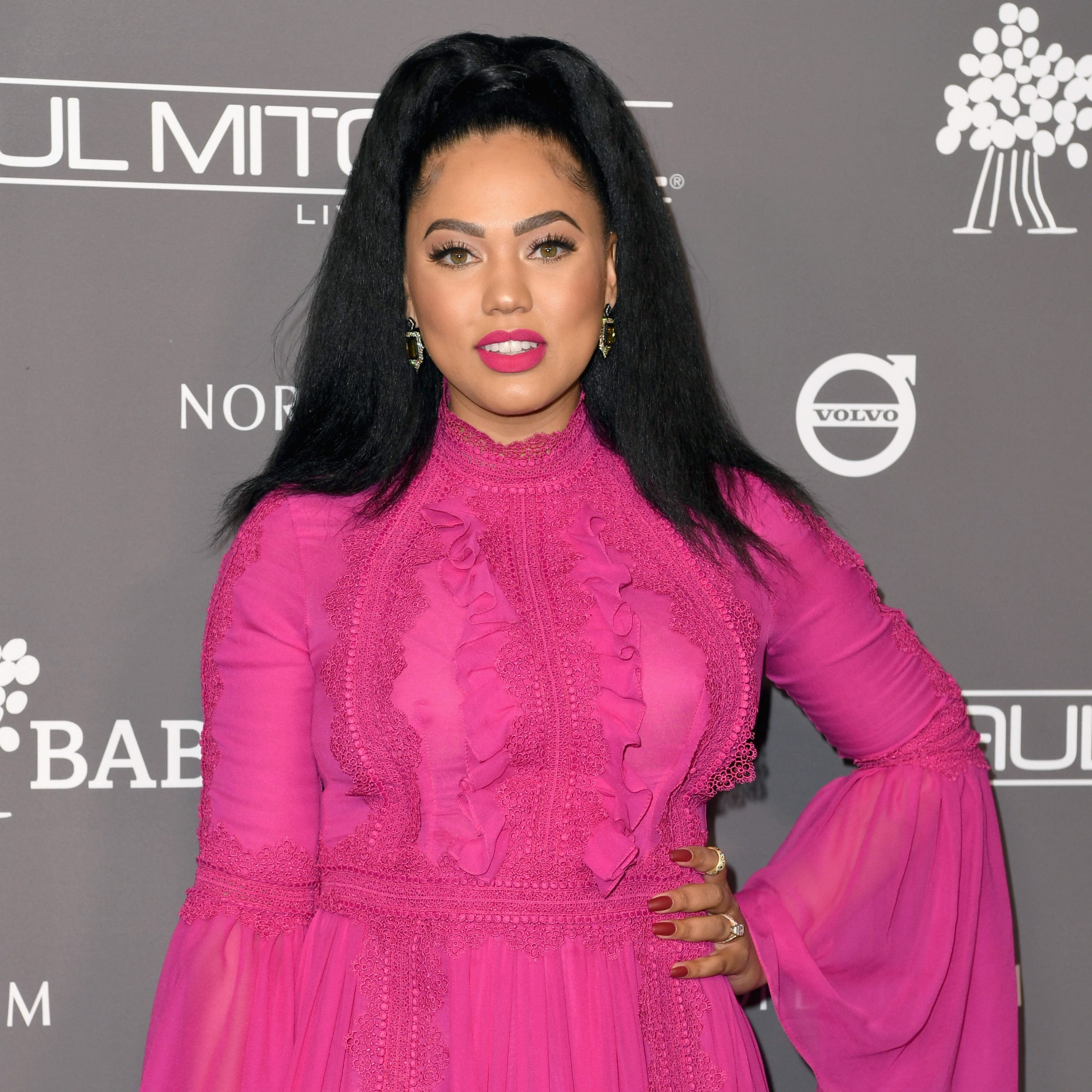Ayesha Curry attends the Baby2Baby Gala Presented by Paul Mitchell at 3LABS on Nov. 10, 2018 in Culver City, California.