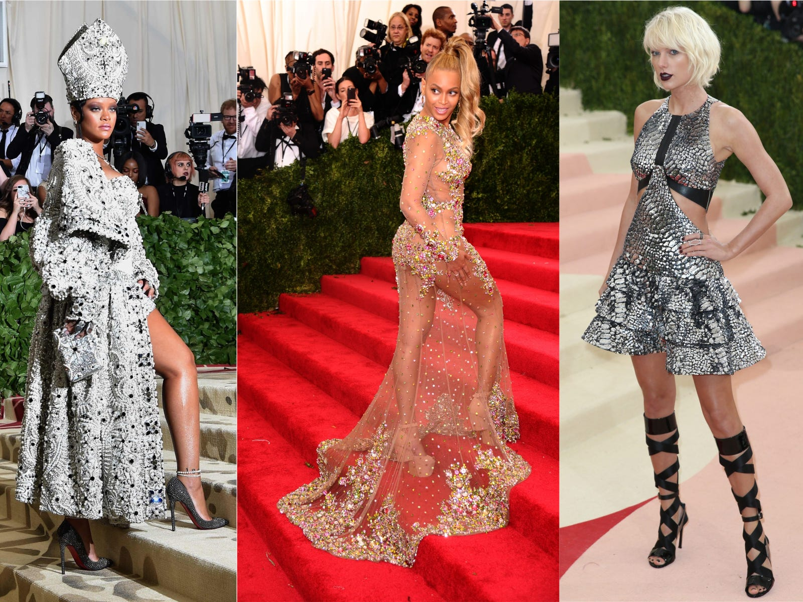 Rihanna, Beyonce and Taylor Swift were noticeably absent from the 2019 Met Gala.
