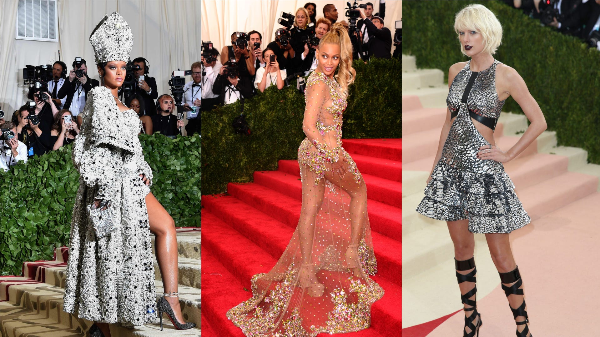 Met Gala Beyonce Taylor Swift Rihanna Bradley Cooper Skip Event
