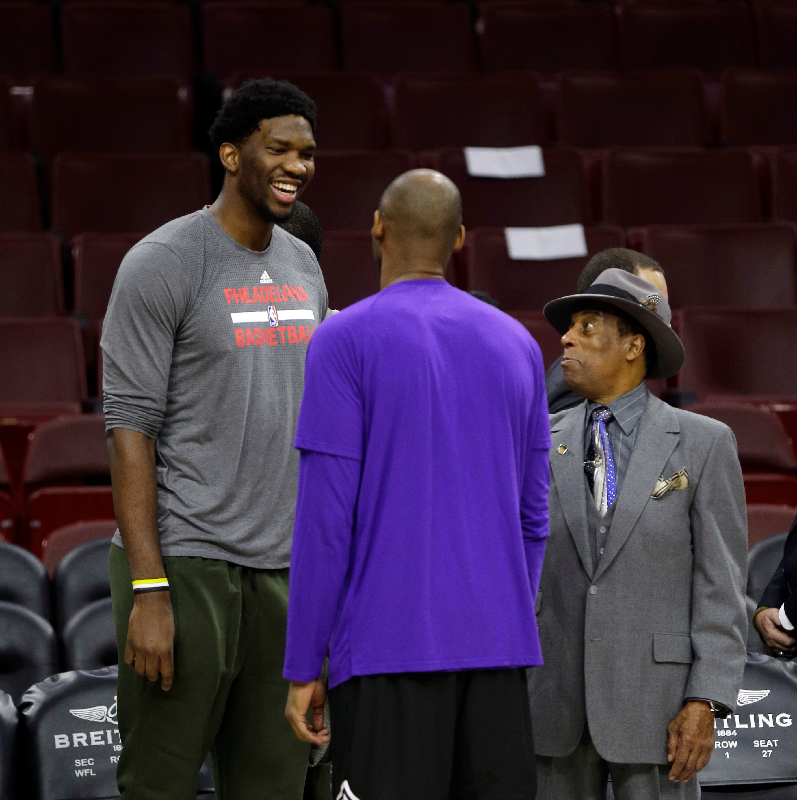 How a Philly basketball legend who helped raise Kobe Bryant keeps Joel Embiid focused