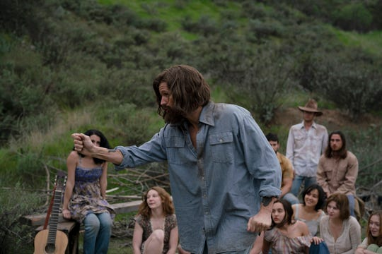 "Matt Smith stars as cult leader Charles Manson in the drama ""Charlie Says."""