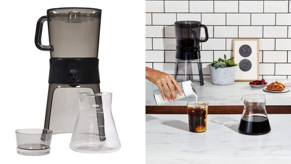 Brew delicious cold brew right at home with this cold brew coffee maker from OXO.