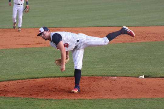 Tyliss Roper delivers a pitch in BHP's shutout win.
