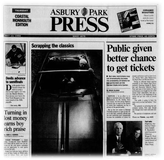 May 12,1994 front page story