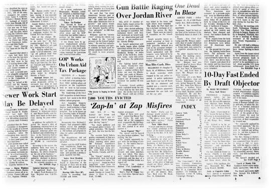 May 12, 1994 front page story