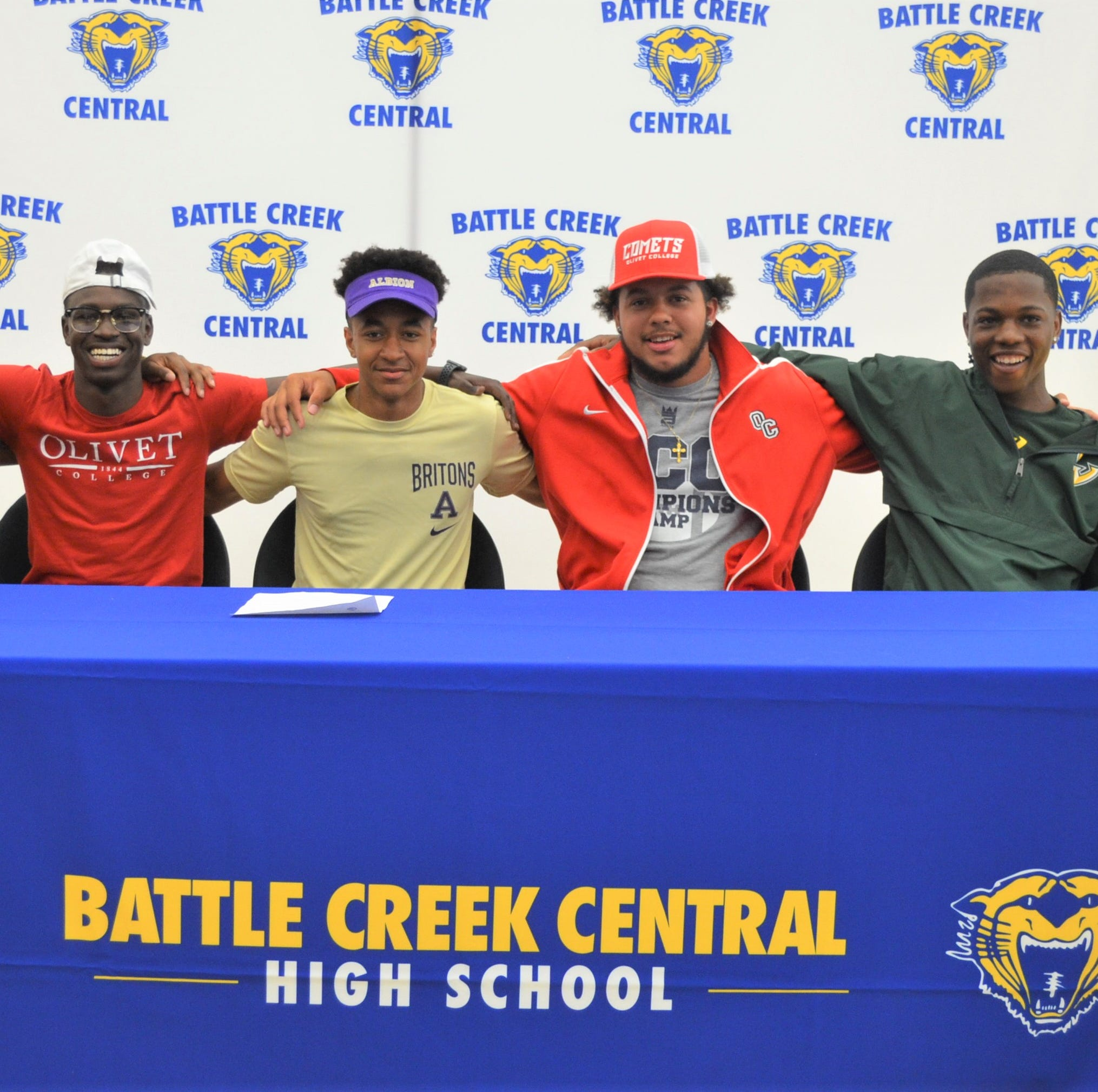 Five more BCC players sign to play college football