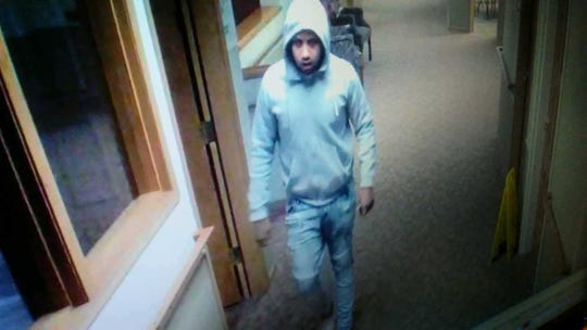 Police are looking for this man after he allegedly took items from a resident at NorthPoint Woods on Monday.