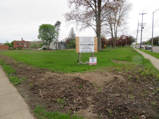 Marchuska Brothers Construction plans a four-building office complex  on this two-acre site at the eastern Main Street entrance to Endicott.