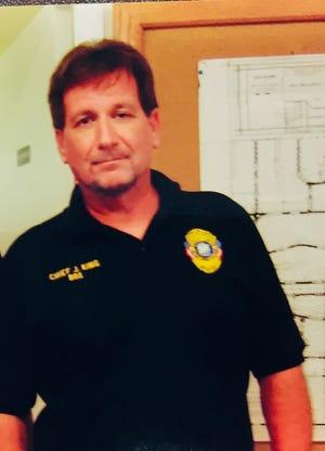 Melbourne Village Police Chief Jack King