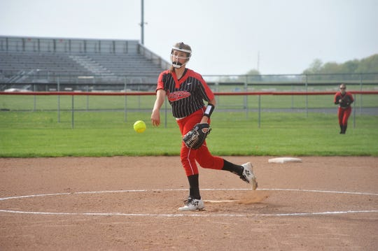 Ashley Davis was set to be a reliable backup pitcher for the Lady Redmen this spring and a key member of the infield.