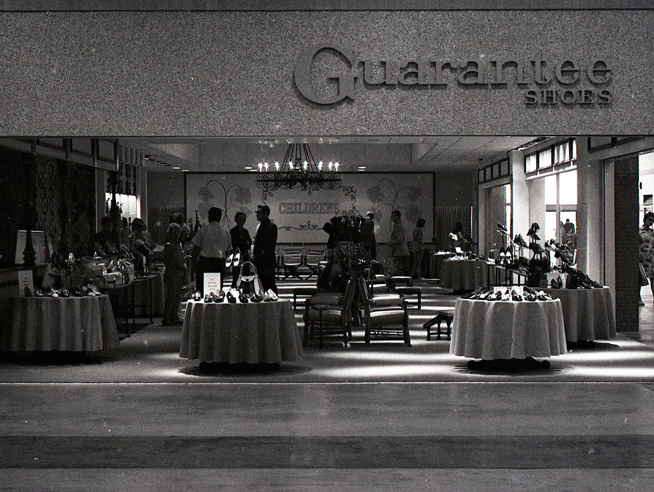 Guarantee Shoes was one of the tenants in Corpus Christi's Padre Staples Mall when it opened in July 1970.