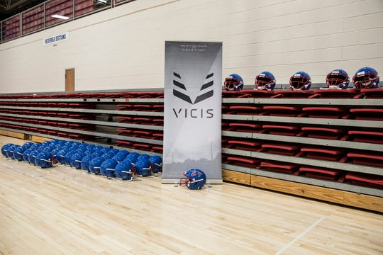 For the 2019 fall football season, the Zane Trace football team will be wearing the highly acclaimed VICIS Helmets that help reduce concussion impacts and have been used by NFL players like Patrick Mahomes and other professional football players.