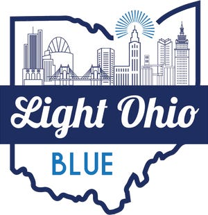 Light Ohio Blue is a statewide campaign to show support to the law enforcement personnel, according to the organization that is taking over the state.