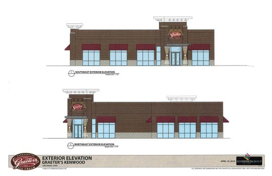 Here are renderings of a Graeter's Ice Cream store proposed for Kenwood.