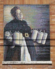 Art and murals are all along the The Brewing Heritage Trail route. Markers and public art are part of the experience. The trail, pictured, Wednesday, May 8, 2019, winds through Over-the-Rhine.