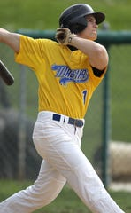 Andrew Benintendi of Madeira swats a grand slam against Indian Hill in 2012