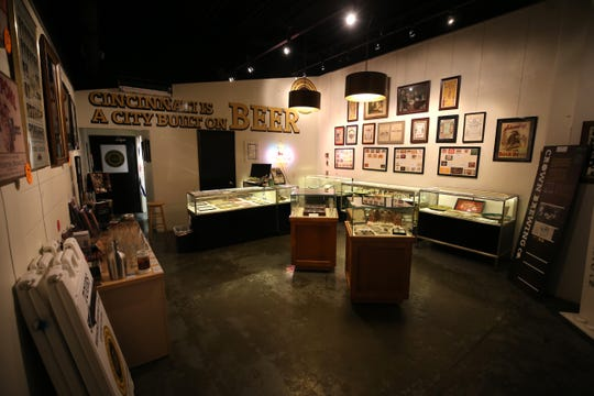 The Brewing Heritage Trail also has a gallery of artifacts inside the Christian Moerlein Brewing Co.