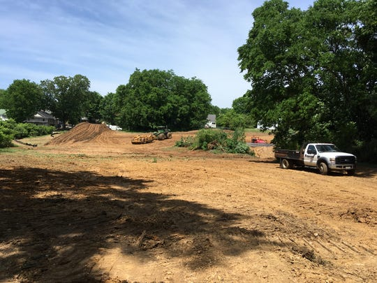 The Loaves & Fishes broke ground on its new facility on Crossland Avenue on Wednesday, May 8, 2019.