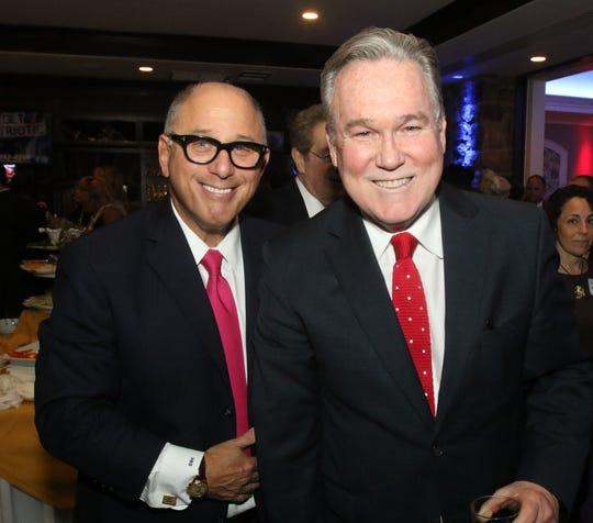 Steve Kalafer (left) and Donald Parker
