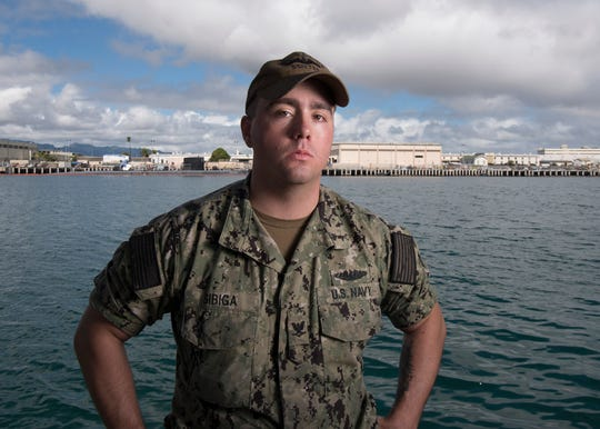 Petty Officer 3rd Class Tyler Sibiga, of Bridgewater.