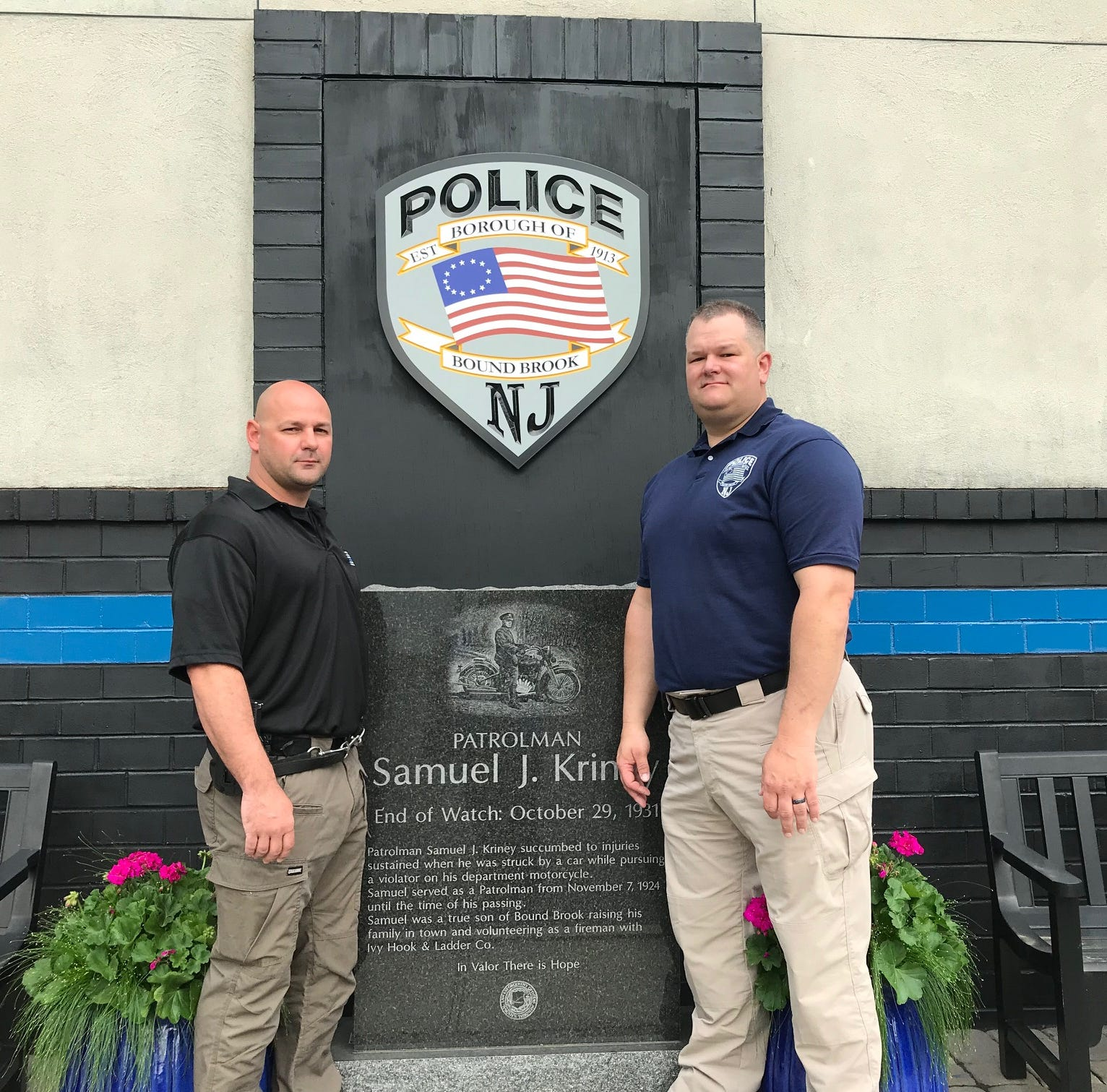 Bound Brook police officers to be honored for rescuing man from collapsed trench