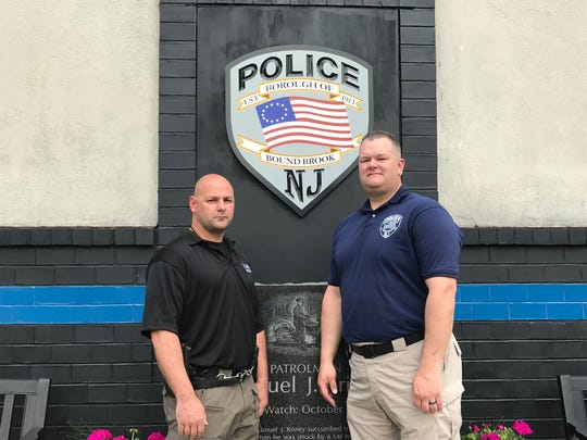 Bound Brook Detective Jason Gianotto and Sgt. Peter Romanyszyn will be honored with Valor Awards from the 200 Club of Somerset County.