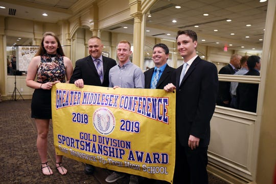 Greater Middlesex Conference 18th Annual Sportsmanship Luncheon at The Pines Manor in Edison, NJ Wednesday May 8, 2019.