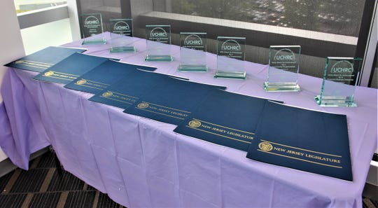 The 2019 Union County Human Relations Commission Unity Achievement Awards and accompanying resolutions.