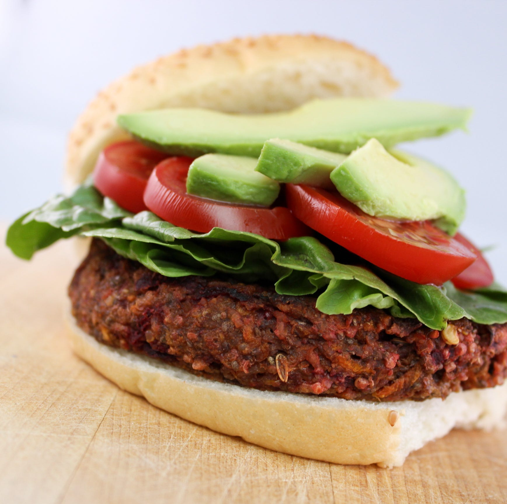 Vegan burger from Des Moines Farmers' Market food vendor wins spot on PETA's 'Top 10' list