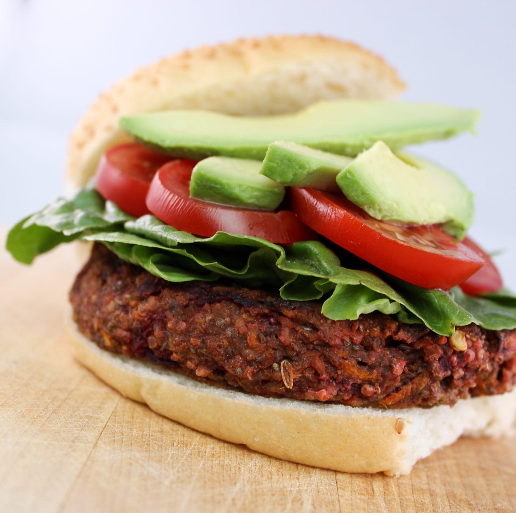 Vegan burger from Des Moines Farmers' Market food vendor wins spot on PETA's 'Top 10' list