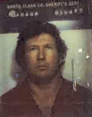 James Richard Curry, now deceased, in a 1983 booking photograph provided by the Santa Clara County SherrifÕs office. He killed a Detroit woman 37 years ago in California, but the case was not solved until this year.