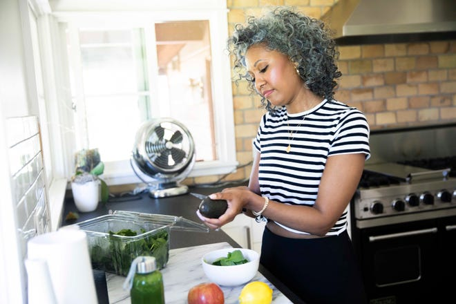 Whether you're suffering from hot flashes, insomnia, irritability or any other symptoms, what you eat can make a big difference in how you experience symptoms.