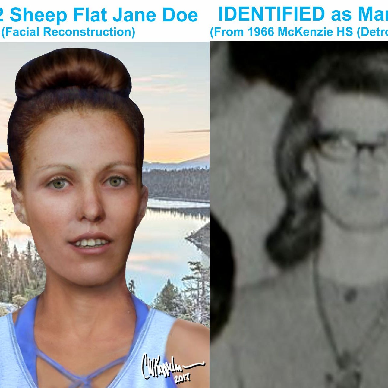 DNA reveals identity of woman killed in Nevada in 1982 — she was from Detroit