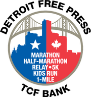 Detroit Free Press marathon logo